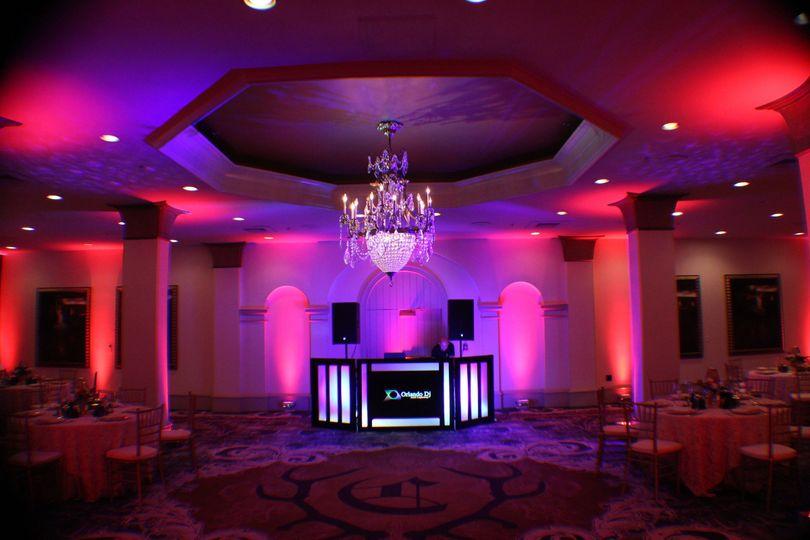 73a3596684be62c0 1436902686353 wedding lighting dj djs castle hotel orlando dec