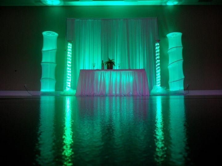 Tmx 1349995266329 Lightedledcolumnbackdroptampadjweddinglighting Orlando, FL wedding dj