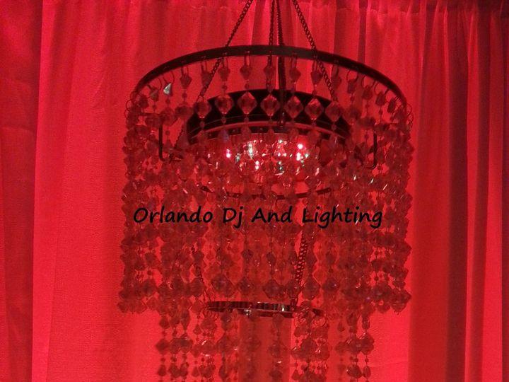Tmx 1362503534848 Orlandodjandlightingredchandelierrentalcrystal Orlando, FL wedding dj