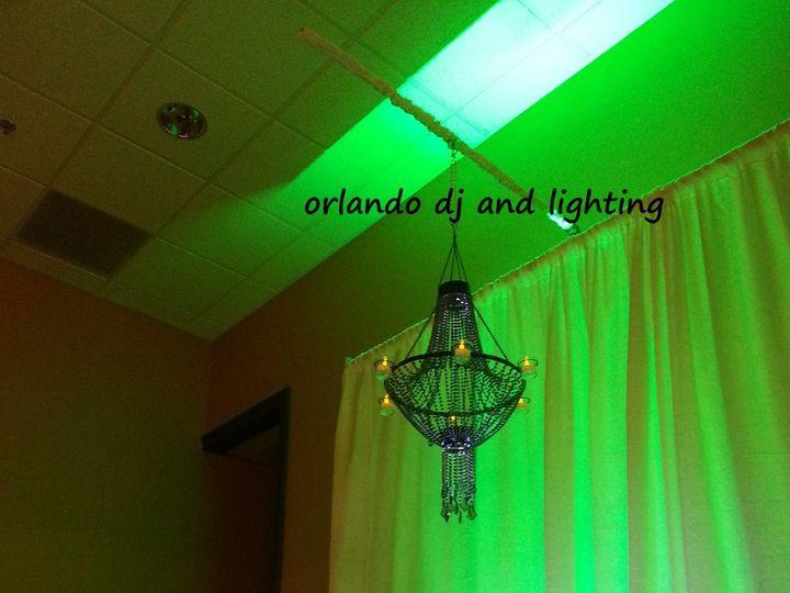 Tmx 1363484119800 Orlandodjandlightingbeadedchandelierrentalcrystal Orlando, FL wedding dj