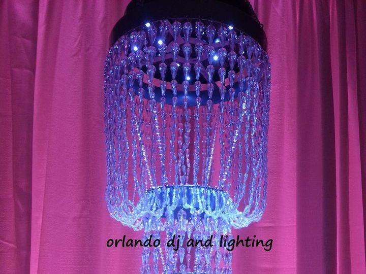 Tmx 1363484228615 Orlandodjandlightingpurplebeadchandelierrentalcrystal Orlando, FL wedding dj