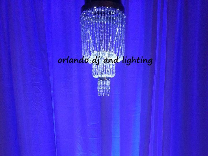 Tmx 1363484280448 Orlandodjandlightingpurplehangingchandelierrentalcrystal Orlando, FL wedding dj