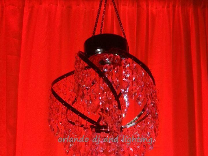 Tmx 1363484384444 Orlandodjandlightingredspherechandelierrentalcrystal Orlando, FL wedding dj