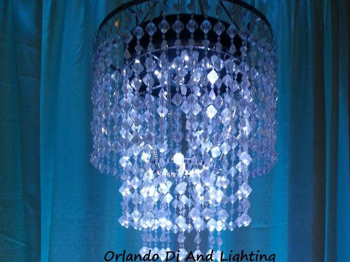 Tmx 1363484428247 Orlandodjandlightingtiffanybluechandelierrentalcrystal Orlando, FL wedding dj
