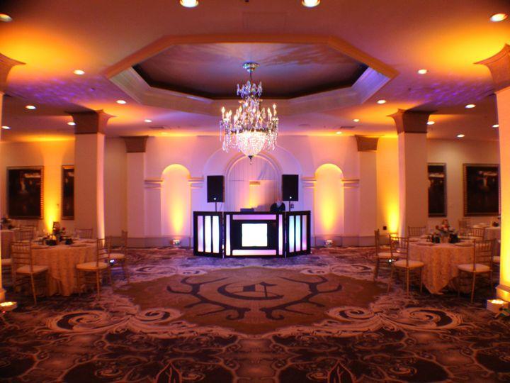 Tmx 1436902509679 Amber Color Blend Uplighting Castle Hotel Orlando  Orlando, FL wedding dj
