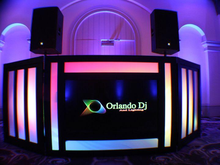 Tmx 1436902592790 Led Dj Booth Orlando Dj Djs Castle Hotel Wedding L Orlando, FL wedding dj