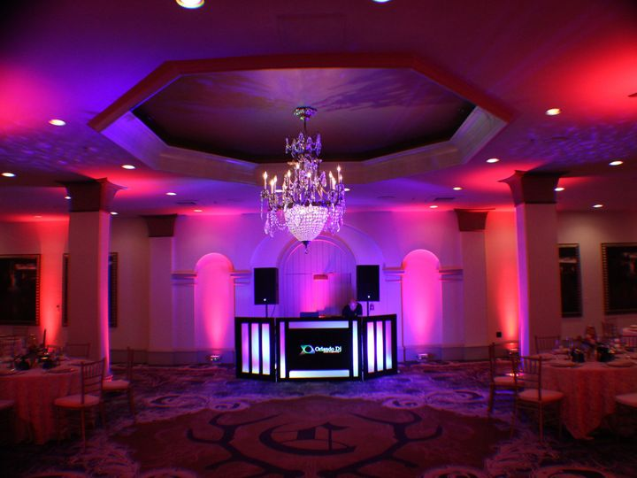 Tmx 1436902686353 Wedding Lighting Dj Djs Castle Hotel Orlando Decor Orlando, FL wedding dj