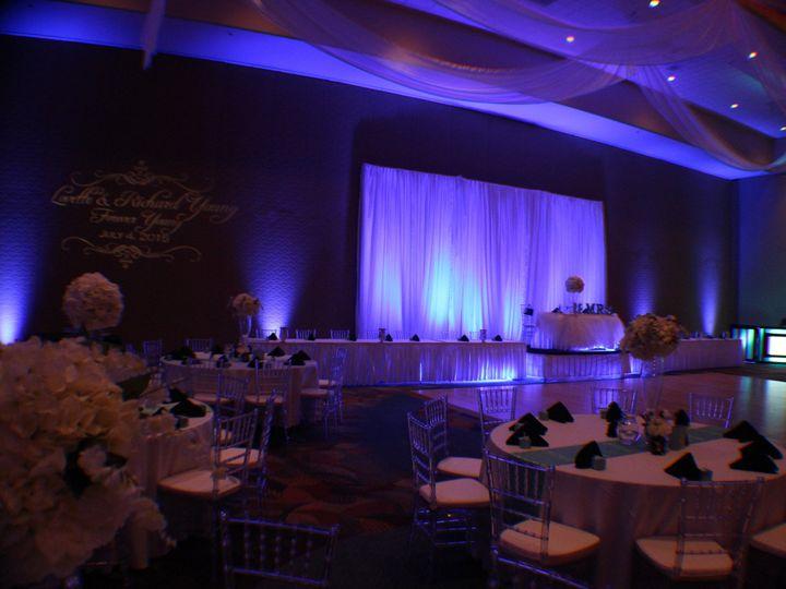 Tmx 1436905034503 Blue Uplighting Rosen Centre Hotel Wedding Lightin Orlando, FL wedding dj