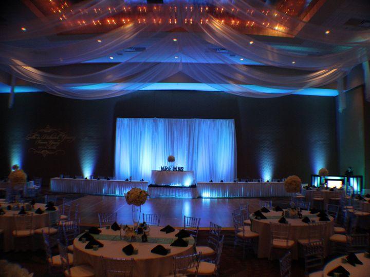 Tmx 1436905083953 Light Blue Uplighting Rosen Centre Hotel Wedding L Orlando, FL wedding dj