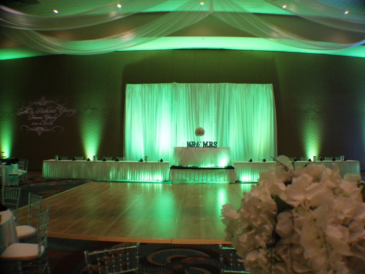 Tmx 1436905128281 Mint Green Uplighting Rosen Centre Hotel Wedding L Orlando, FL wedding dj