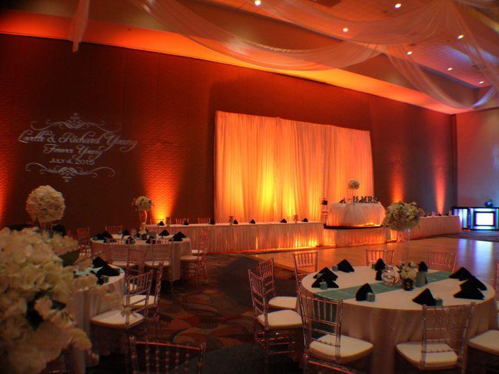 Tmx 1436905176683 Orange Crush Uplighting Rosen Centre Hotel Wedding Orlando, FL wedding dj
