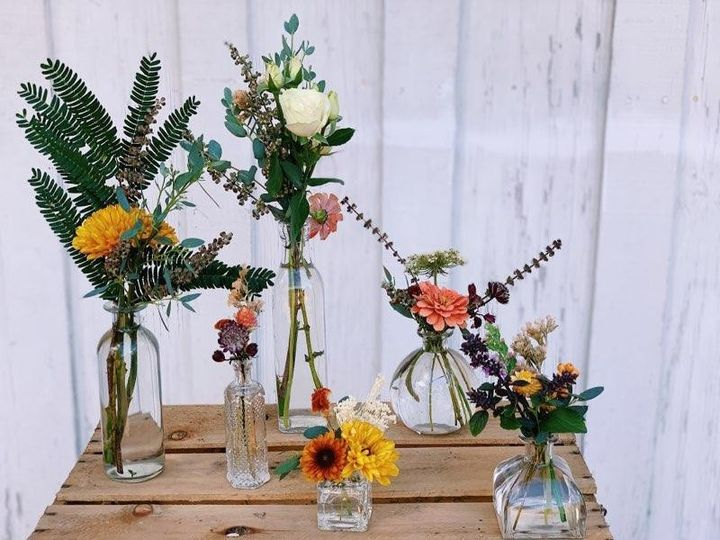 Collection of Bud Vases
