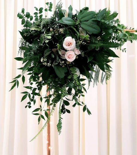 Arch Floral Display
