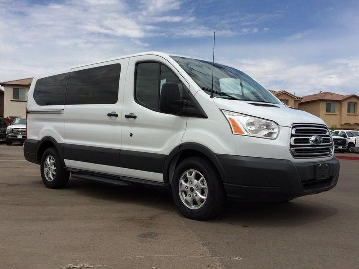 14 passenger van