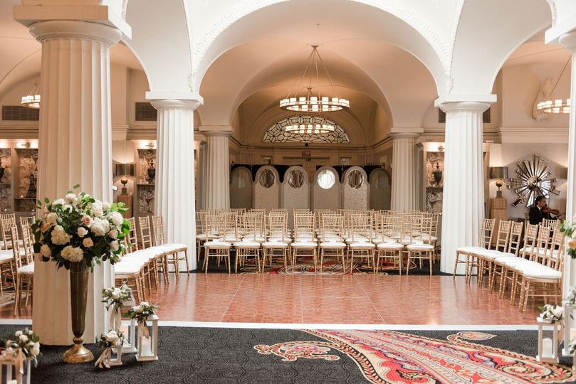 Ceremony in The Paris Ballroom