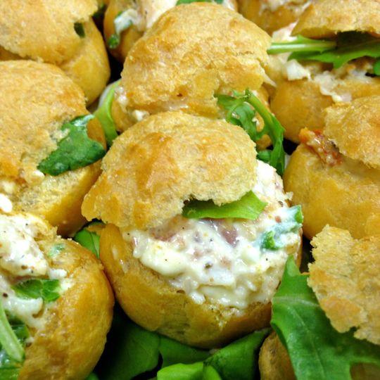 Chicken salad brioche