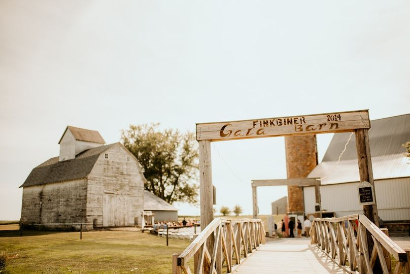 Rustic barn entrance in the afternoon sun