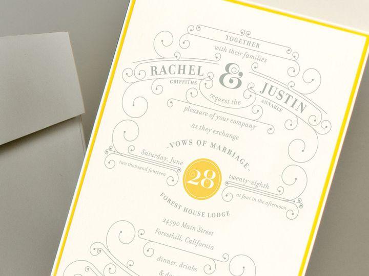 Tmx 1378159502694 Racheljustininvitephotowebd1lrg Issaquah wedding invitation
