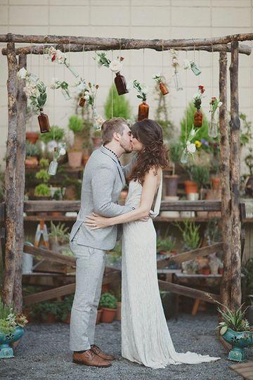 A memorable kiss