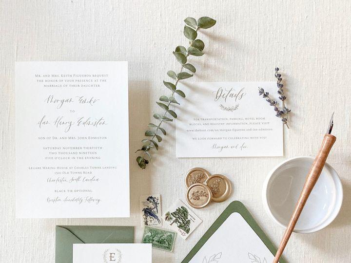 Tmx 1571928086156710 51 1066043 157677538141101 Raleigh, NC wedding invitation