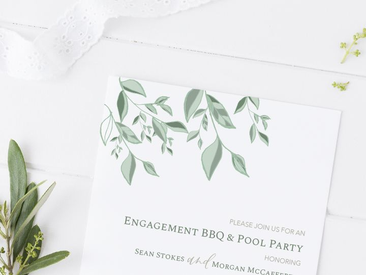 Tmx Engagement Party Invite 51 1066043 1557863790 Raleigh, NC wedding invitation