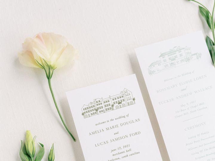 Tmx Weddingprogram Venueexamples2 51 1066043 159188111349619 Raleigh, NC wedding invitation