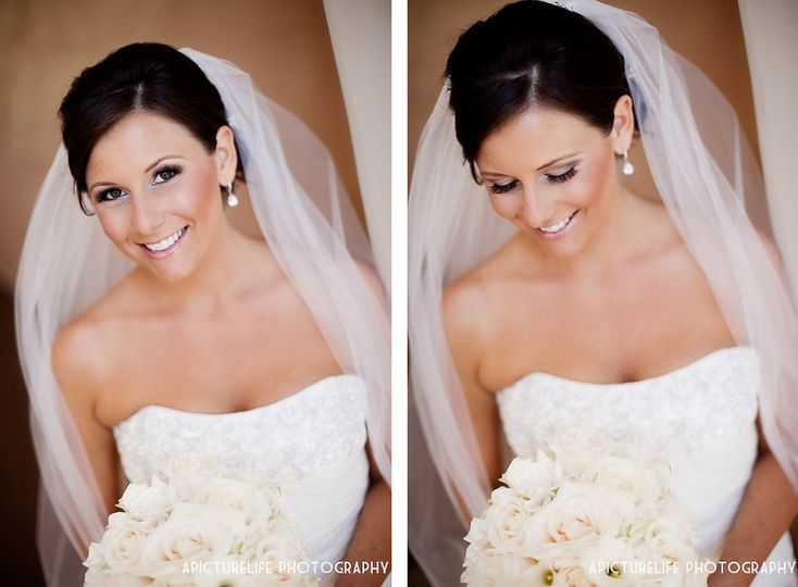 ocmichellemoore bridal hair airbrush makeup beauty