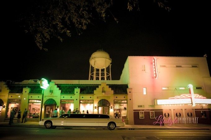 Exterior view of the Lancaster Theatre