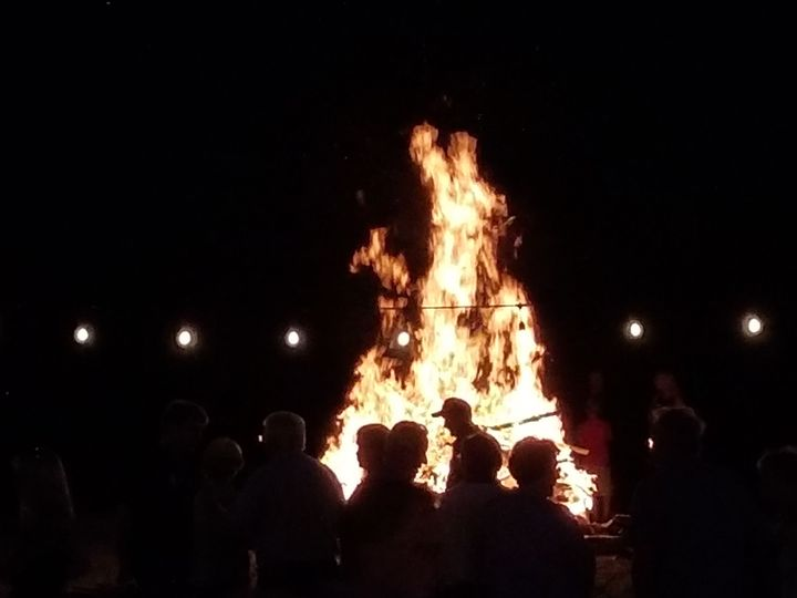 The Finnish Club is a social club and is allowed a ceremonial fire pit for their Finnish Holidays.