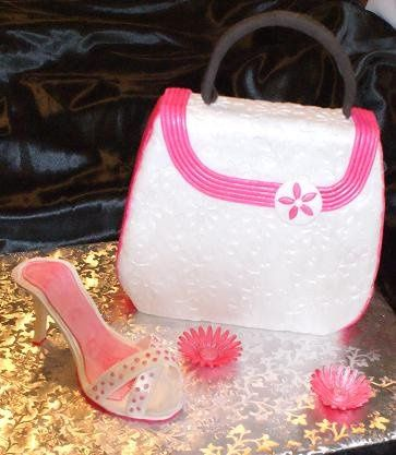 Tmx 1267412268817 Pinkshoeandpurse Bellingham wedding cake