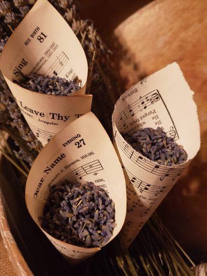 Lavender parcels