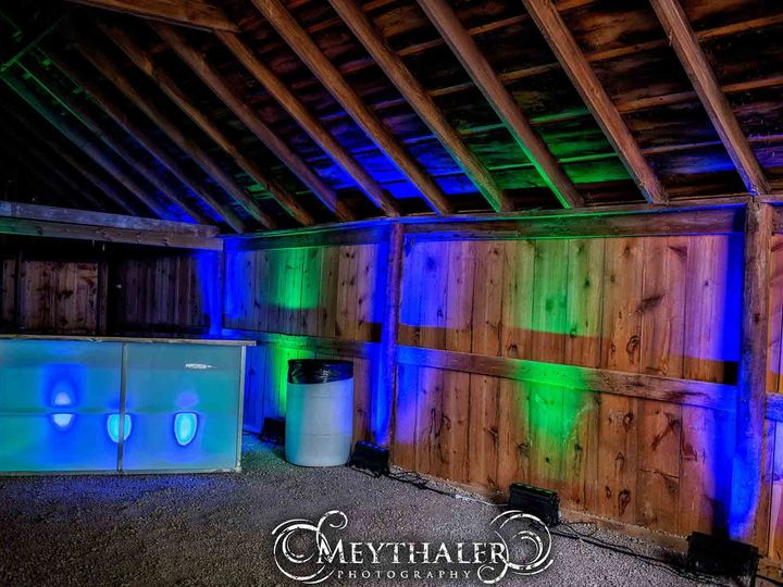 Tmx 1384273541324 Barn Uplighting Indianola, IA wedding dj
