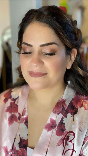 Rosy Bridesmaid Makeup