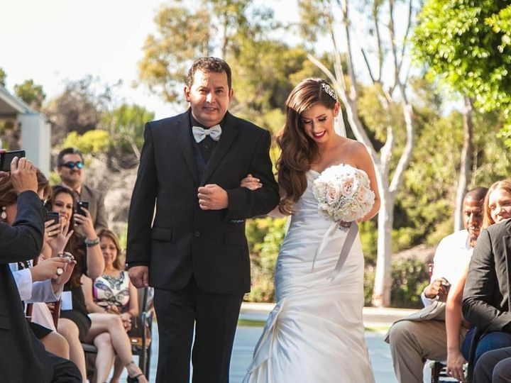 Tmx 1469715161688 Diana And Father Long Beach, CA wedding officiant