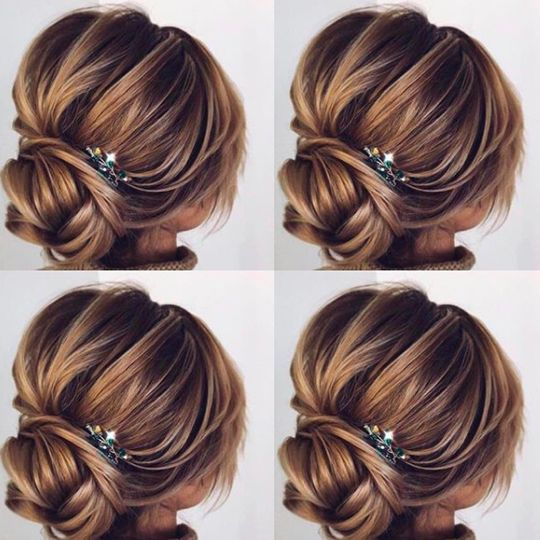 Updo to style custom