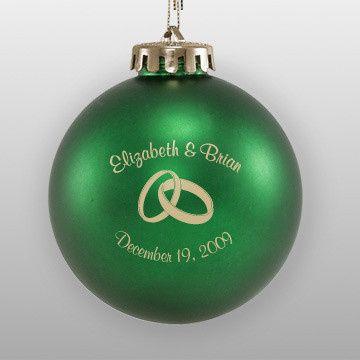 Emerald green ball