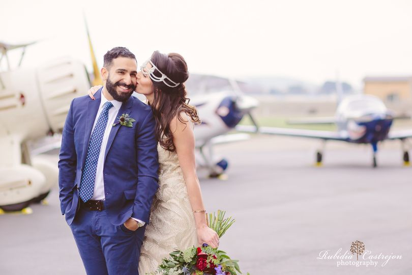 aviation livermore wedding planes styledshoot mant