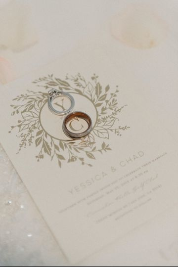 Invitations and rings