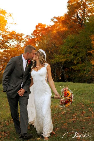 Zach and Katee's Fall Wedding at Windham Mountain Resort.