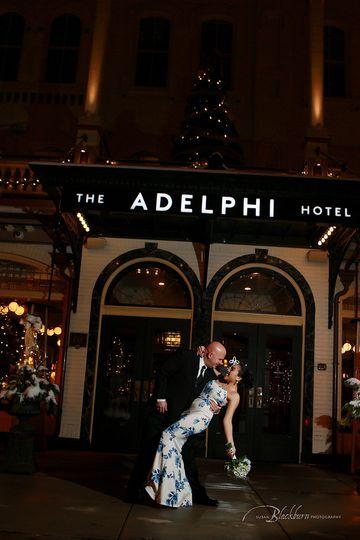 Adelphi Hotel Winter Wedding