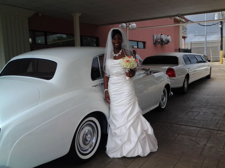 The balcony bride