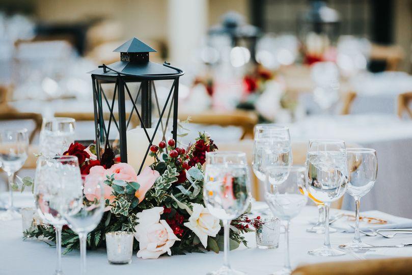 Gorgeous, romantic tablescape at Upper Las Virgenes Open Space Preserve McCann Florist (Collective...