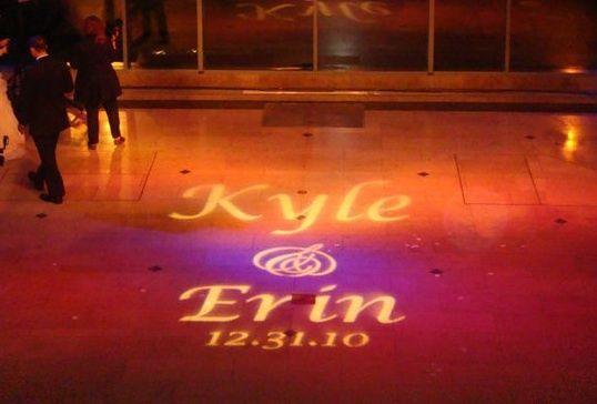 Dance Floor Projection