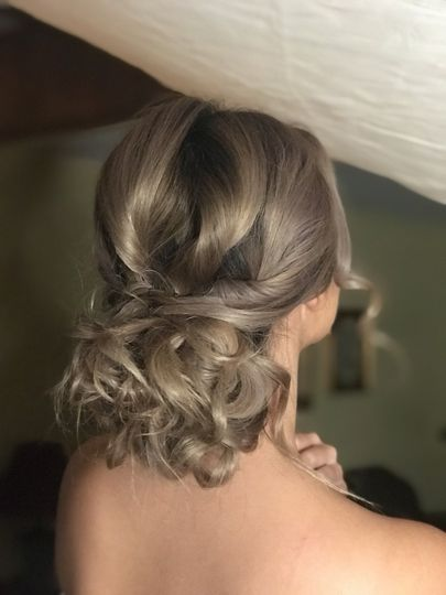 Bridal hair do