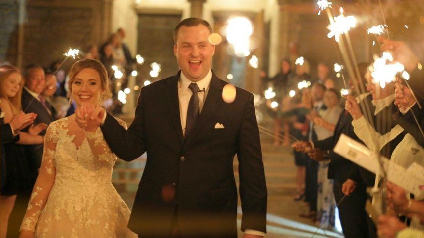 A joyous exit - Spencer Wadlington Wedding Video
