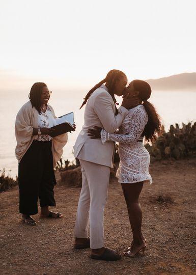 Kiss at Sunset
