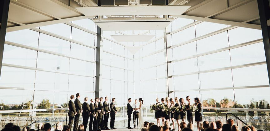Huge wedding venue
