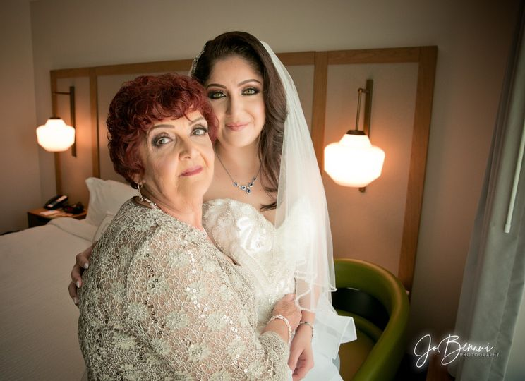 Mom and Bride Fairfield Inn Br