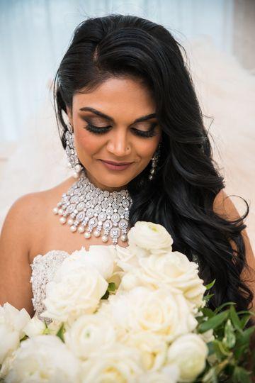 High glam LUX bride