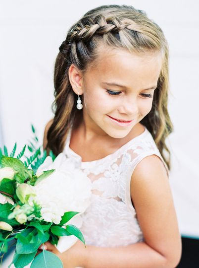 Flower girl gorgeousness
